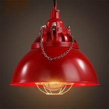 Lámparas colgantes clásicas lámpara colgante para Loft lámpara colgante Retro loft para bar sala de estar accesorios de luz industrial cocina comedor