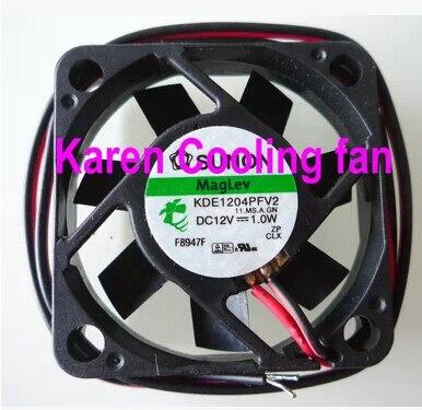 Купить с кэшбэком HZDO KDE1204PFV2 DC12V 1.0w 4010 4cm Cooling fan