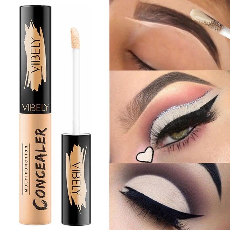 5 Color Eye Concealer Liquid Makeup Base Corrector Full Cover Blemish Eye Anti Dark Circle Concealer Cream Cosmetics