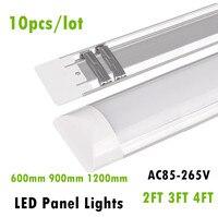 Novo LED Luzes Do Painel 2FT 3FT 4FT 20 W 30 W 40 W LED Purificação de superfície Montado Lâmpadas de Teto luzes T5 T8 Tubo de Luz AC85-265V