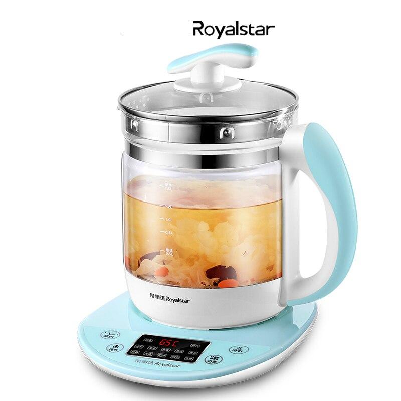 Bouilloire électrique automatique épaississement verre Pot de santé Pot d'eau chaude multi-fonction ménage bouilloire électrique théière goutte à goutte bouilloire