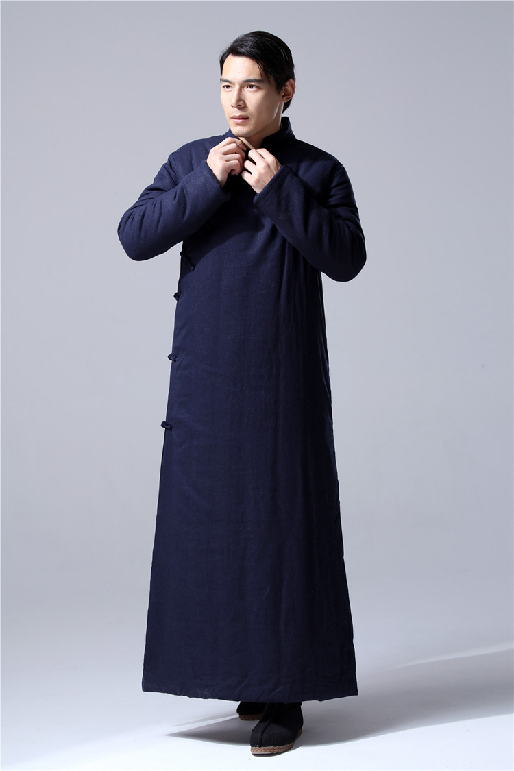 Daoist Double Layered Winter Robe 5