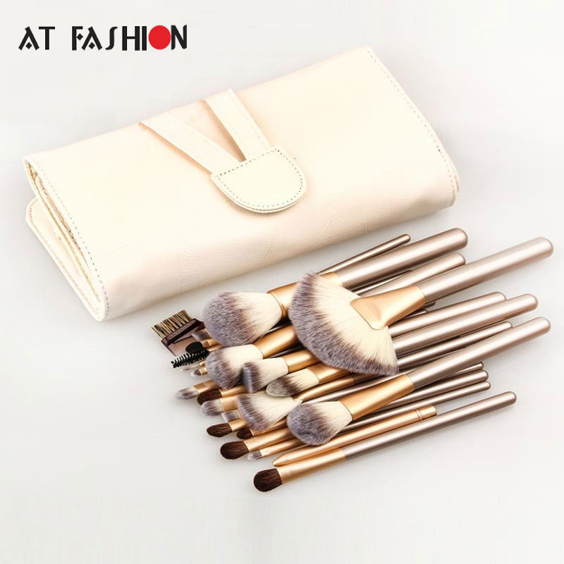 Professional Makeup Brush Set High Quality 24pcs Makeup Cosmetic Brushes Set Powder Foundation Eyeshadow Lip Brush