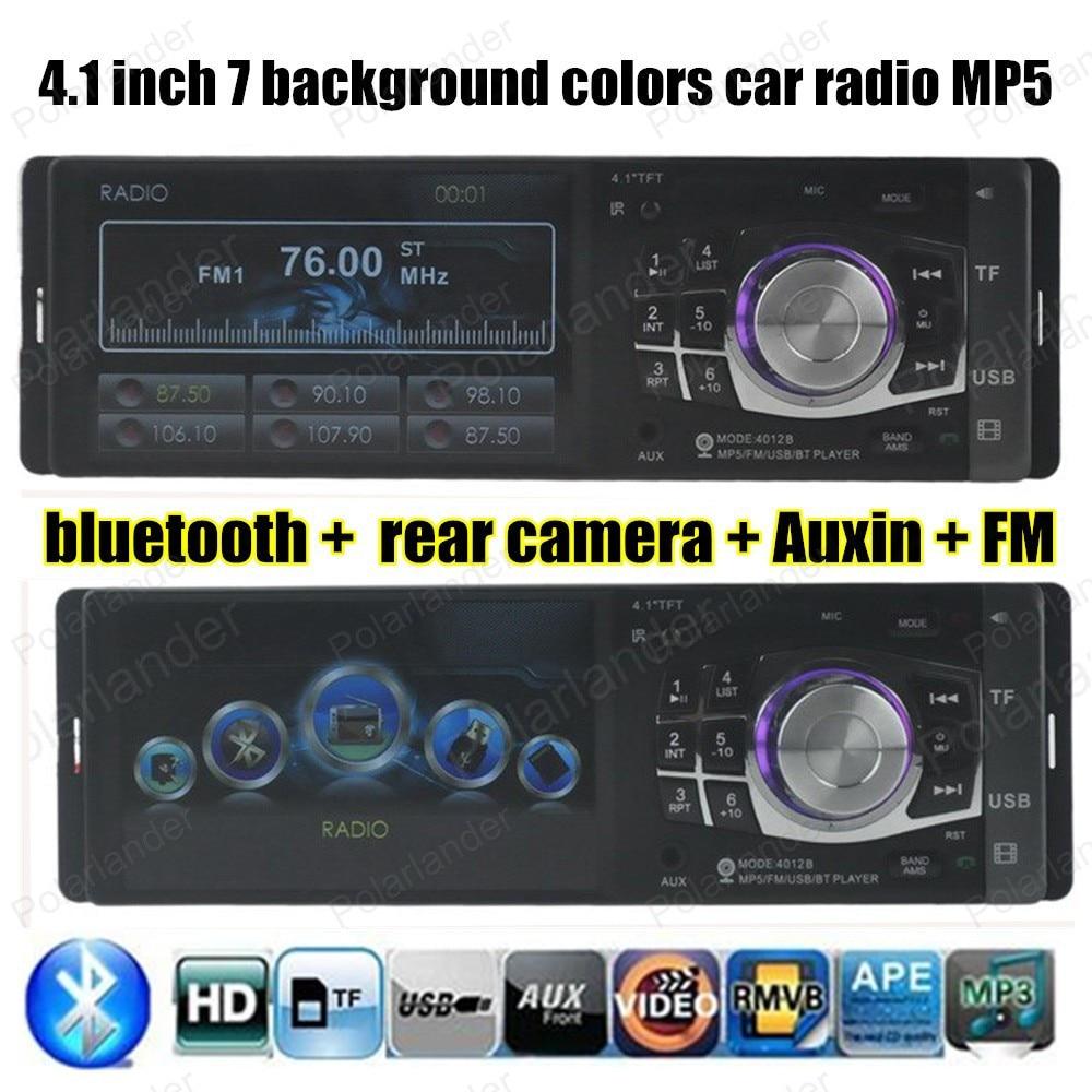 2015 NEW HIGH QUALITY Car Radio HD Digital Car MP5 Player bluetooth MP5 FM Radio Reverse Image with USB/SD FM Radio Video