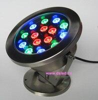 Buena calidad IP68 de alta potencia 15 W RGB llevó la luz de la piscina RGB LED 15X1 W  24 V CC  DS-10-61-15W-RGB  accesorio de acero inoxidable