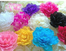 20pcs Peony 17cm artificial peones flower dance props fake arch flower weddng decoration 7colors(China)