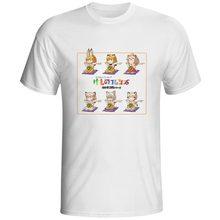 Anime Kemono Friends T-shirt Fashion Style Cartoon Casual O-neck T Shirt Funny Novelty Print Cool Skate Women Men Top