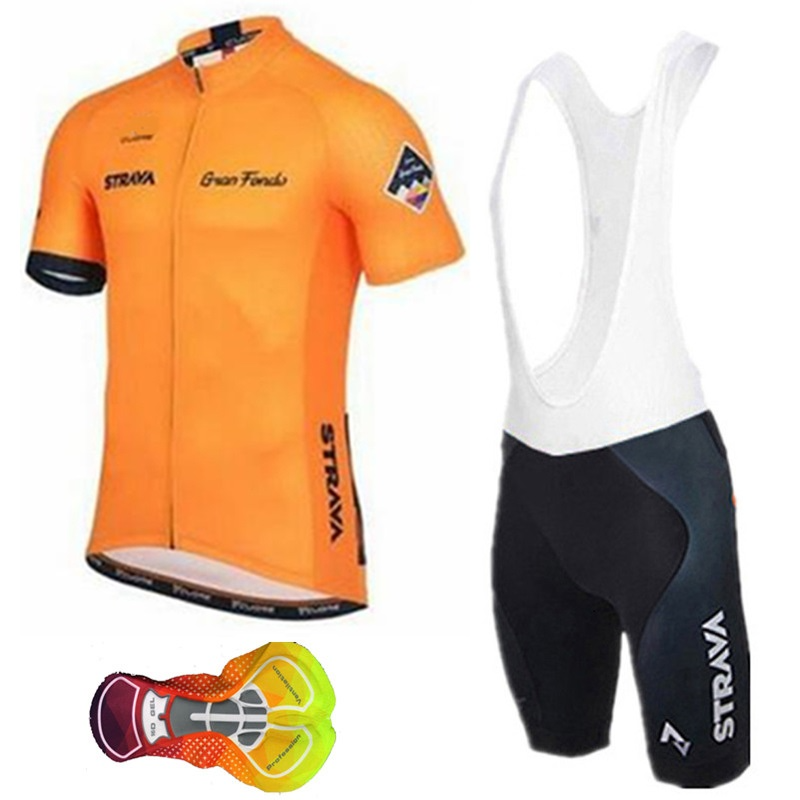 Strava suit short-sleeved Jersey 2019 breathable bicycle clothing Maillot Jersey riding equipment bicycle clothing