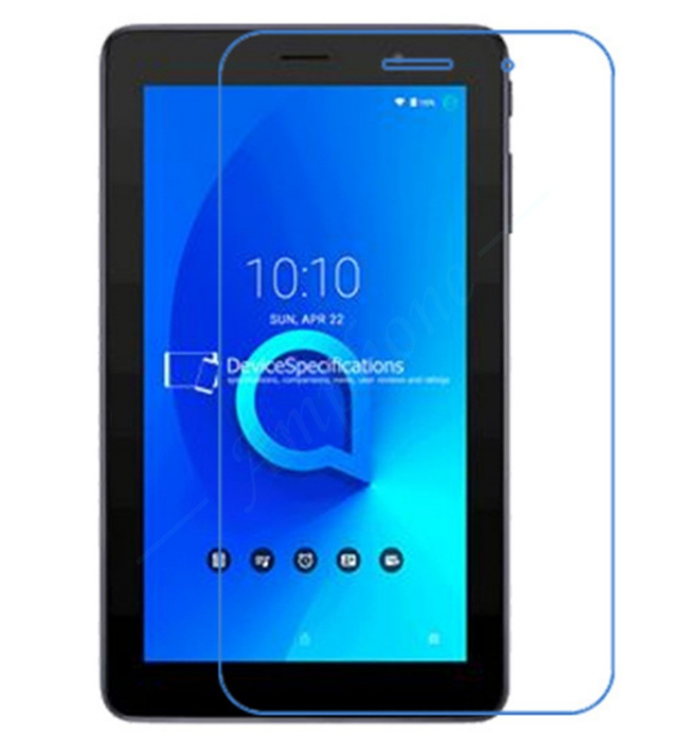 New 2PC/Lot High CLEAR High quality Screen Protector Guard Cover Film For Alcatel 1T 7-inch Tablet PC Free Shipping