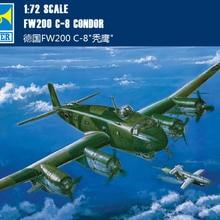 """Труба 01639 1: 72 немецкие FW200C-"""" лысый орел"""" модель сборки"""