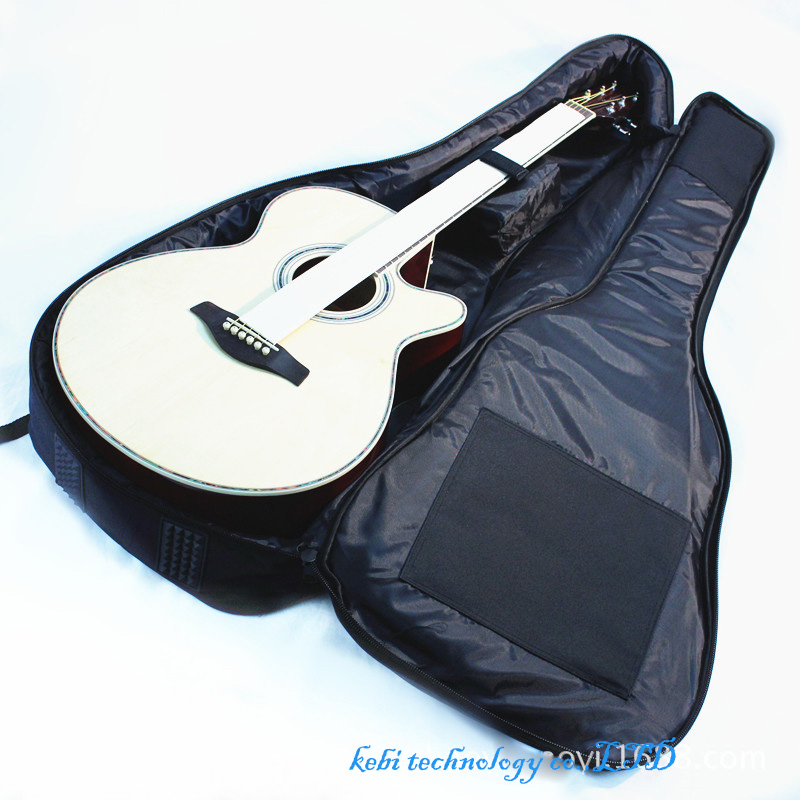 Waterproof Thicken 10 mm Electric Guitar Bass Folk Bag Case Backpack Guitarra Bass Accessories Parts Carry Gig Oxford Cloth belcat bass pickup 5 string humbucker double coil pickup guitar parts accessories black