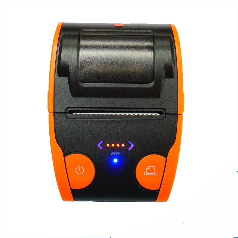 Free shipping  Mini 58mm Low Noise POS Receipt Thermal Printer with USB Port EU PLUG coffee printer usb interface 58mm pos receipt printer thermal printing with power supply built in free shipping