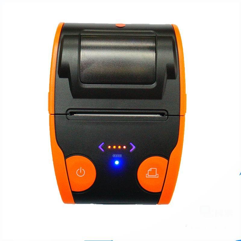Free shipping  Mini 58mm Low Noise POS Receipt Thermal Printer with USB Port EU PLUG coffee printer zj 5890k mini 58mm black and white printer pos receipt thermal printer built in power light with usb port power interface