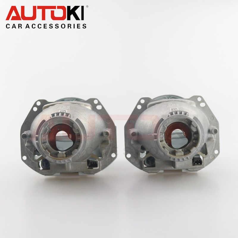 Autoki 2 шт. 3,0 дюймов Bi Xenon Hella G5 фары объектив проектора Алюминий автомобильные hid-фары изменить D2S отражатель Hi/lo луч