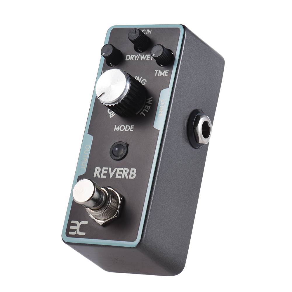 high quality reverb guitar effect pedal true bypass guitar parts in guitar parts accessories. Black Bedroom Furniture Sets. Home Design Ideas