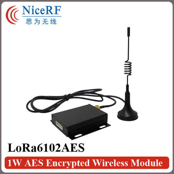 Free Shipping 2PCS Lora6102AES 1W 8km Long Range TTL/RS232/RS485 Interface AES Encrypted 433MHz Wireless TransceiverFree Shipping 2PCS Lora6102AES 1W 8km Long Range TTL/RS232/RS485 Interface AES Encrypted 433MHz Wireless Transceiver