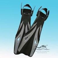 Professional PP + TPE gris chaussures de palmes de plongée plongée équipement sportif F-08G