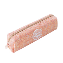 Shining Pencil Case Glitter Color Sequin School Supplies Students Stationery Bag Girls Gift Kawaii