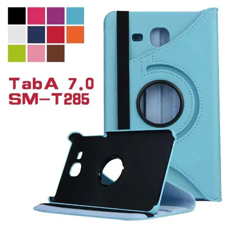 Folio stand PU leather cover tpu case magnetic cover case for 2016 New Case for Samsung Galaxy Tab A 7.0 T280 T285