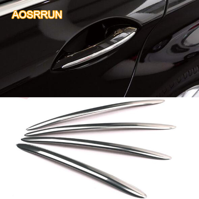 AOSRRUN Stainless Steel Door Handle Car Car Accessories For BMW - Bmw 525i 2013