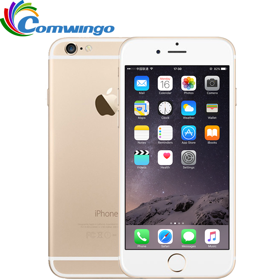 Original Unlocked Apple IPhone 6 & 6 Plus Cell Phones 16/64/128GB ROM 4.7 / 5.5'IPS GSM WCDMA LTE IOS IPhone6 Plus Mobile Phone