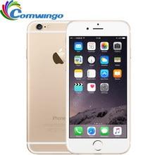Original desbloqueado apple iphone 6 & 6 plus telefones celulares 16/64/128 gb rom 4.7 / 5.5 ips ips gsm wcdma lte ios iphone6 mais telefone celular