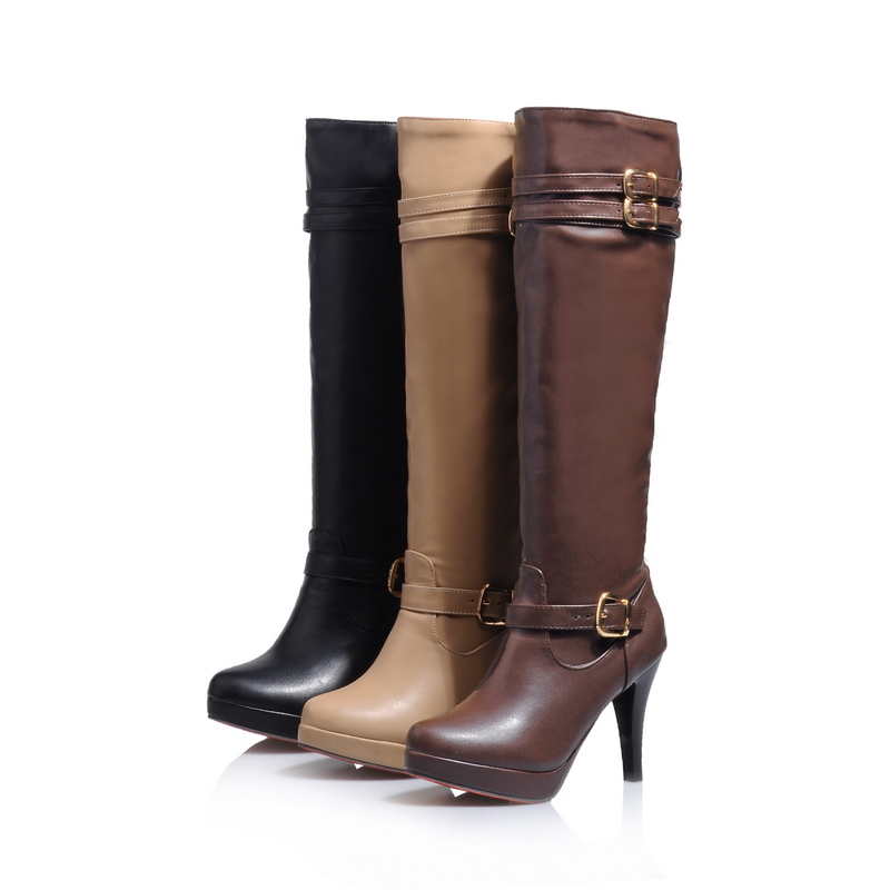 Ladies Black Dress Boots Promotion-Shop for Promotional Ladies ...