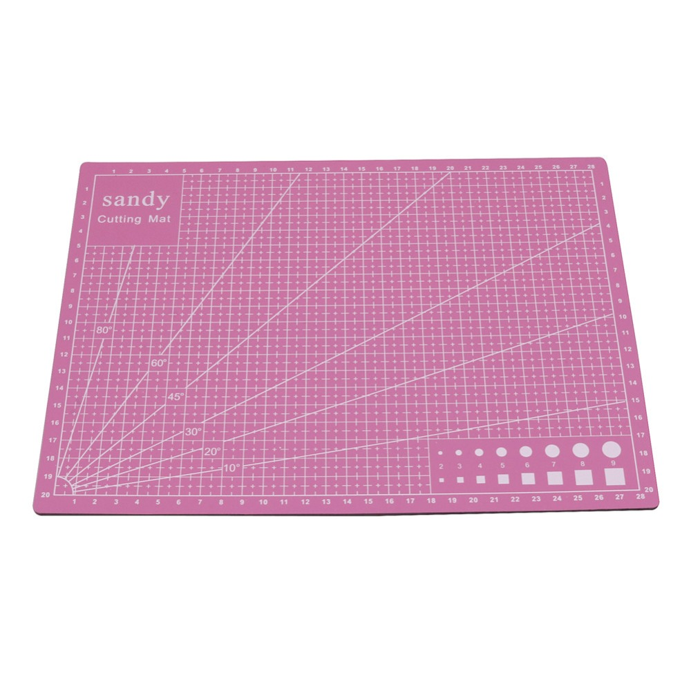 GOOD QUALITY 1 Pcs Cutting Mat 30 * 22 * 0.3cm Pink Exterior Sewing Tools DIY Accessory