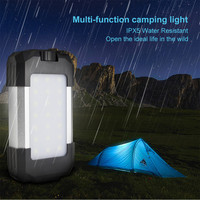 15W Portable Camping Tent Light 6000mAh USB Rechargeable Hanging LED Lamp Waterproof Camping Lantern Tent Lamp Emergency Light
