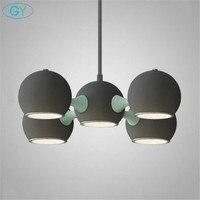 Art Designer Lamp Modern LED Children Room Lustres Chandeliers Stairs Space Ship Led Hanging Lighting For