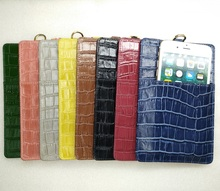 Crocodile Cover 8 Leather
