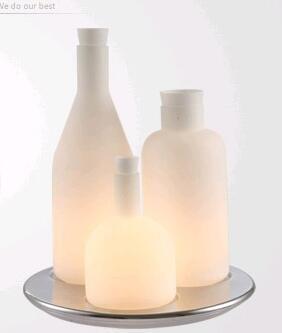 Desk Lighting Lamp Light white 3 Head Bottle Light New Modern Design Contemporary Bottle Table Lamp FG804