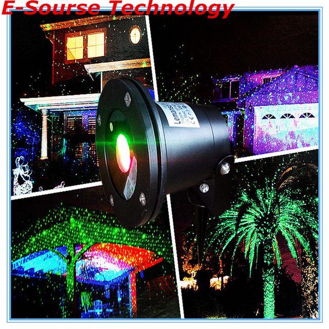 Waterproof Outdoor Laser Lights Firefly Landscape Dot Projector For Lawn Garden Home Decor Free Dhl 002938