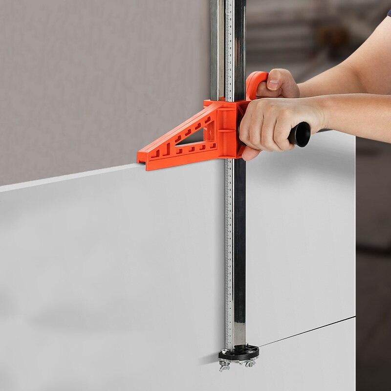 Professionnel panneau de gypse coupe réglable panneau de gypse outil de coupe en acier inoxydable bois planche à découper outils