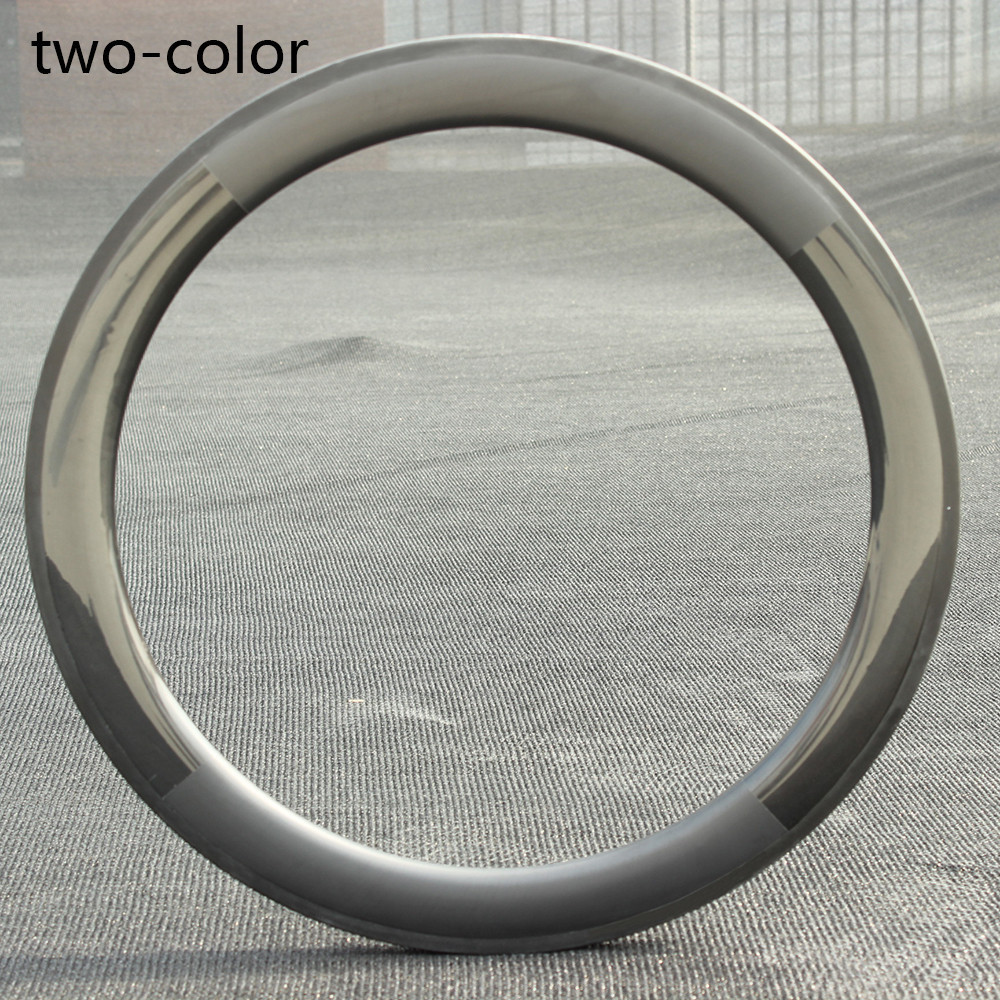 700c Wider Aero Carbon Rim 50mm Depth Tubular/ Clincher / Tubeless For Road Bike Or Cyclocross Gravel Bike