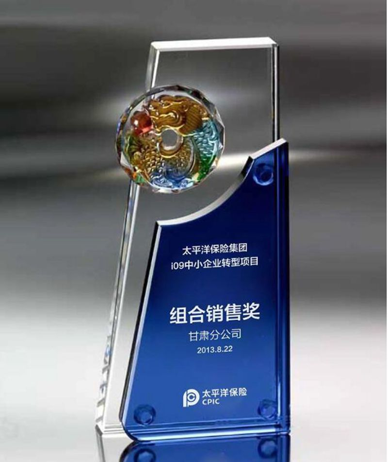 1 Piece Customized Logo and Words Crystal Trophy Glass Champions Award Cup Sports Souvenirs Competitions Awards,Free shipping green and amber color glass trophy sports events awards sport games awards champions league trophy