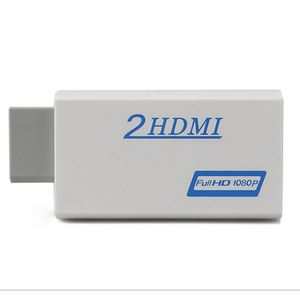 Image 3 - 10pcs a lot New For Wii to for HDMI Adapter Converter Support 720P1080P  3.5mm Audio For HDTV