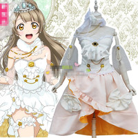 2017 Cosplay Costumes LoveLive School Idol Project Anime Cos Costume A Set Cosplay Wig Anime Hair