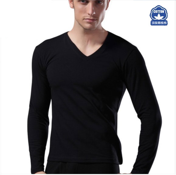 Mens Black Long Sleeve Cotton Shirt   Is Shirt