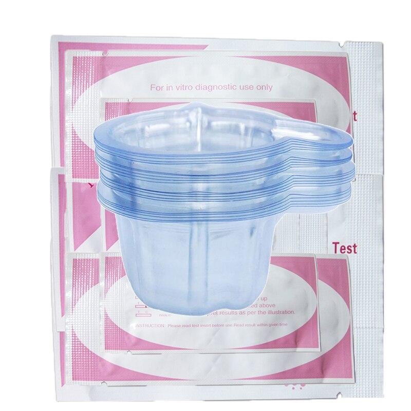 Home 20 Tasse Urin Container Für Fruchtbarkeit Tests Urin Midstream Test Streifen 20 Stücke Fruchtbarkeit Tests Mit Tasse Sporting 20 Stücke Lh Eisprung Test