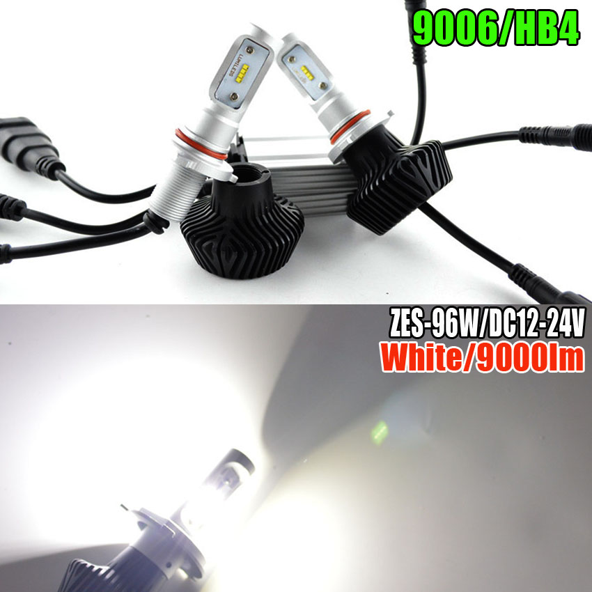 Car Styling H4 H7 H8 H9 H11 HB3 HB4 9005 9006 9012 LED Headlight 96W 9000 Lumen Bulb Conversion Kit light Automobile Lamp 3157 p27 7w 1200lm led bulb car fog light tail driving lamp drl daytime running reverse 100w 6000k white 3030 20smd 12v 24v 3156