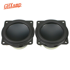 Image 1 - 2 zoll 58MM 4OHM Alle frequenz Lautsprecher Aluminium Topf Bass Hausgemachte Protable Audio Bluetooth Diy 90Db 10 20W 2PCS