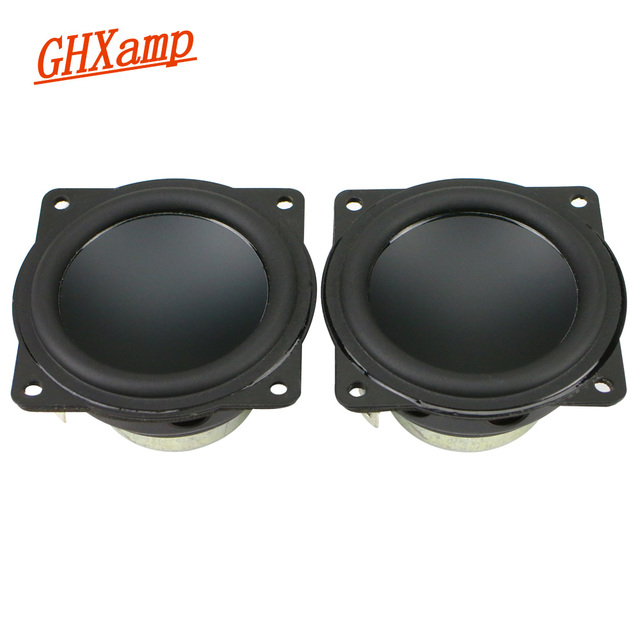2Inch 58MM 4OHM All frequency Speaker Aluminum Pot Bass Home-made Protable Audio Bluetooth Diy 90Db 10-20W 2PCS