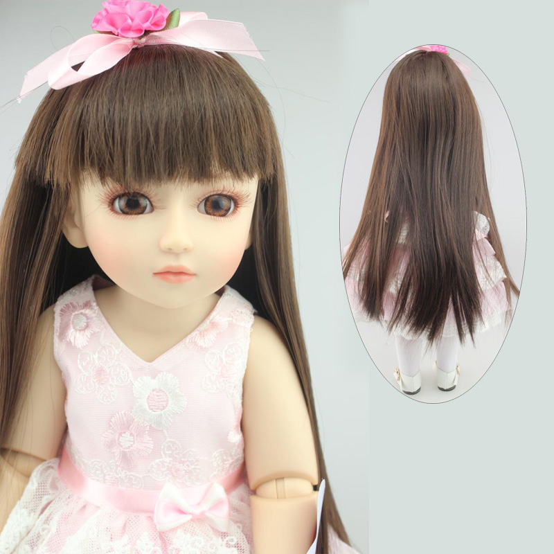 NPK COLLECTION 45CM Real Baby Girl Reborn Doll BJD Joints Body Cute Face Simulation Beautiful Princess With Long hair Girl Gifts original winx club bloom musa beautiful girl magiche fan doll collection toys