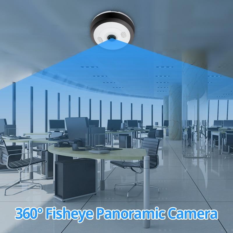 HD 960P WIFI Camera 360 Degree Panoramic Camera font b Wireless b font IP Camera Night