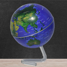 где купить 4 inch Rotation magnetic Rotating Globe levitating globe earth Battery Powered Desktop Globe World Map for Home Office Ornament по лучшей цене