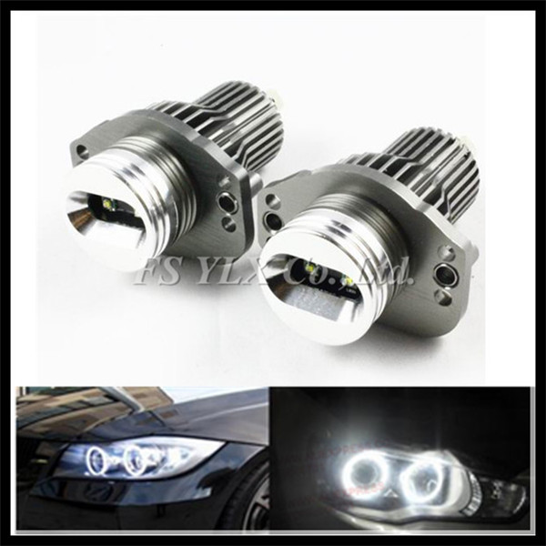 Car light 10W LED Angel Eyes E90 E91 LED Marker headlight halo ring bulb for BMW LED angel eyes for BMW E90 E91 328i 335i White bmw e90 335i в москве