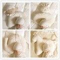 Natural de algodão orgânico do bebê recém-nascido travesseiro travesseiro em forma de bebê anti-estático anti enxaqueca