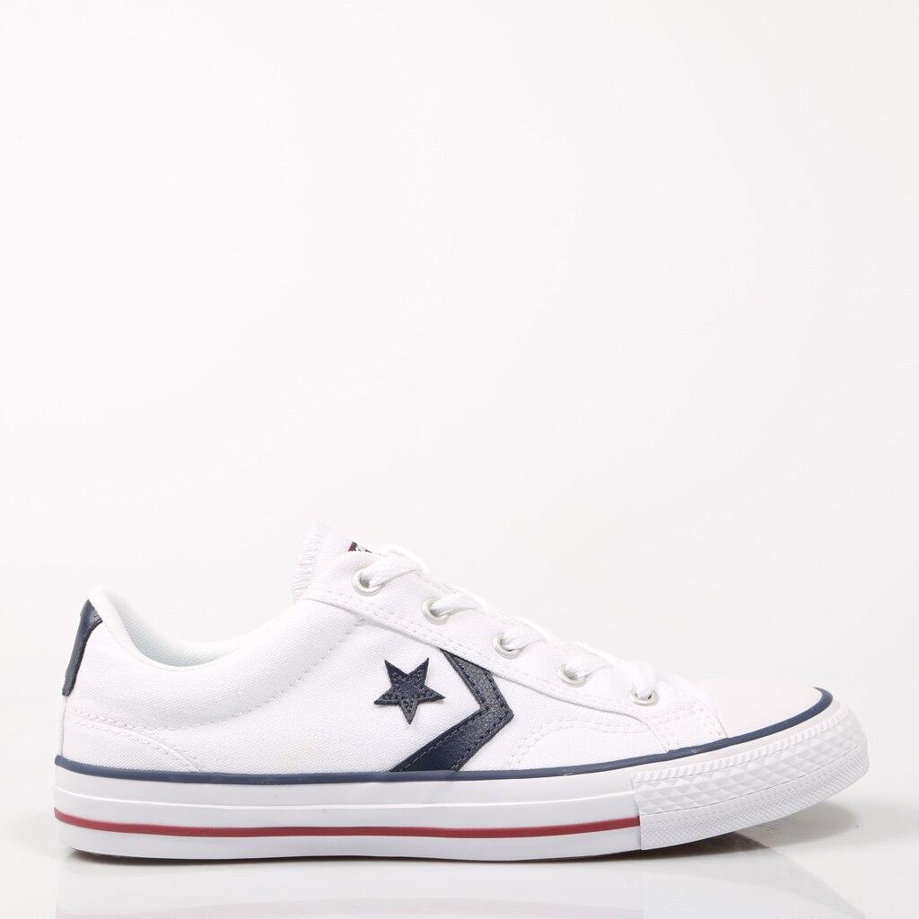 CONVERSE STAR PLAYER White Canvas Zapatilla Lona Blanca Sneakers Blanco Unisex Original Star Player 51564 2020