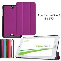 XSKEMP Ultra Slim Magnetic Cover Case For 7 Inch Acer Iconia One 7 B1 770 Case
